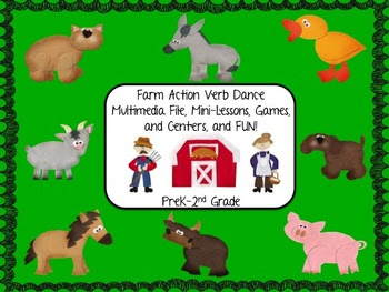 Farm Action Verb Dance Multimedia Fun