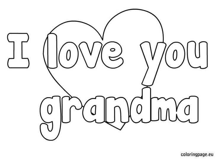 Free Coloring Pages Happy Birthday Grandma - High Quality ...