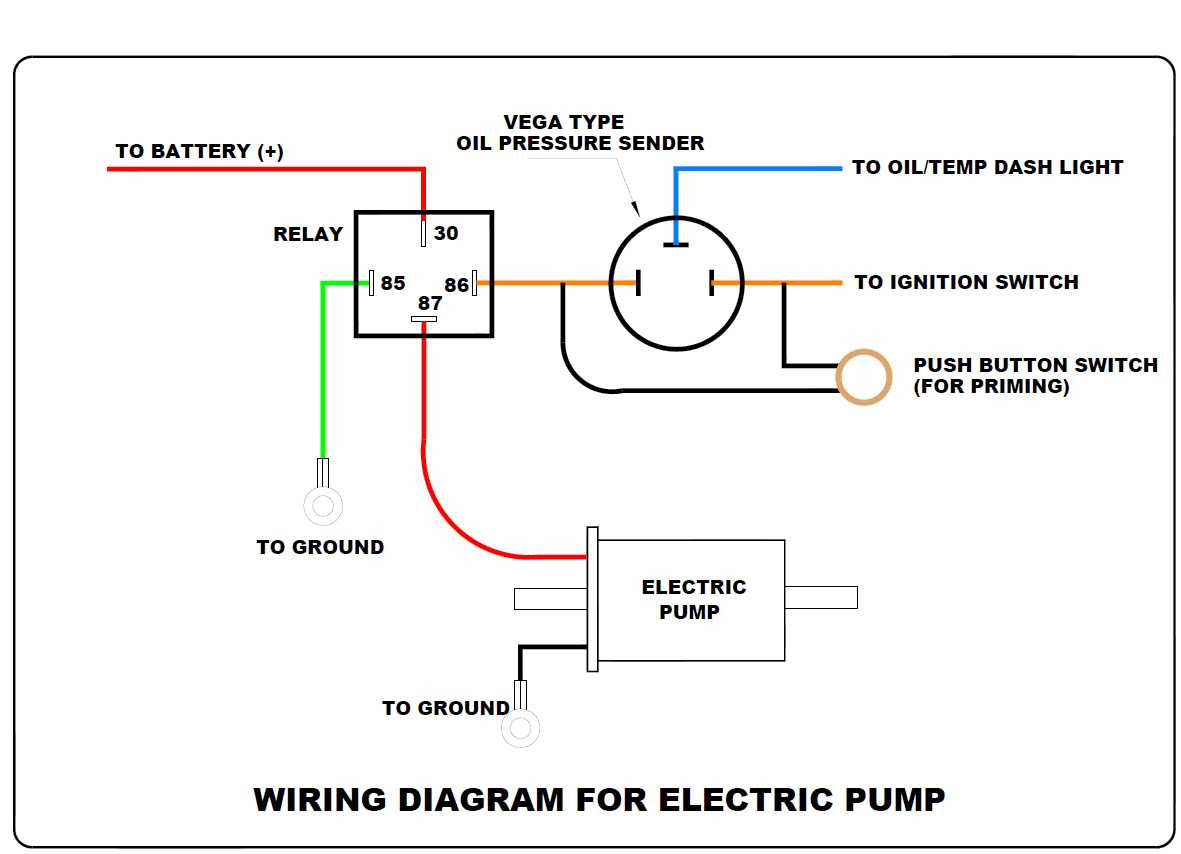 Stuck with Wiring for Electric Fuel Pump