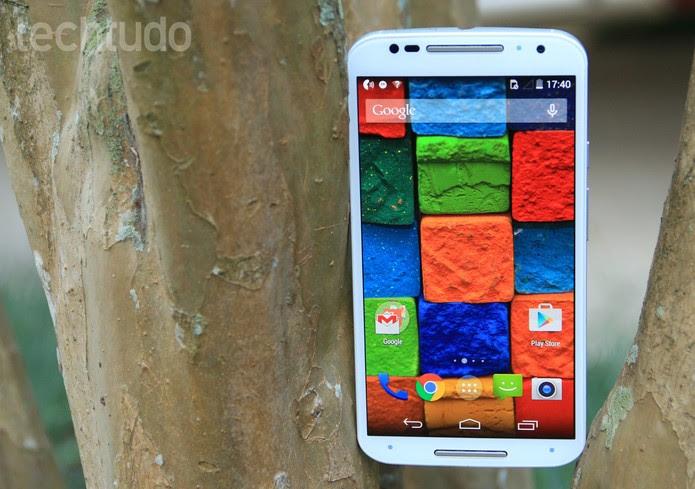 Novo Moto X (2014), smartphone da Motorola (Foto: Lucas Mendes/TechTudo)