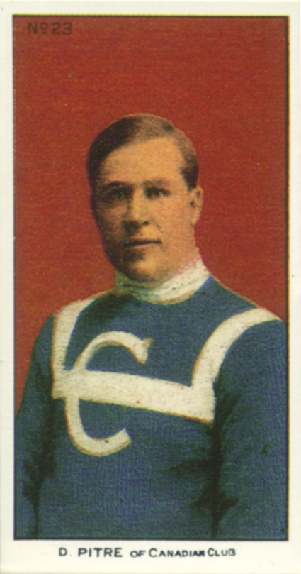 Montreal Canadiens Didier Pitre 1909-10 jersey