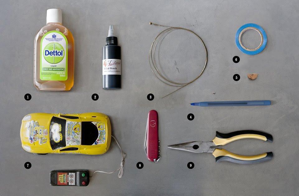Как сделать тату машинку