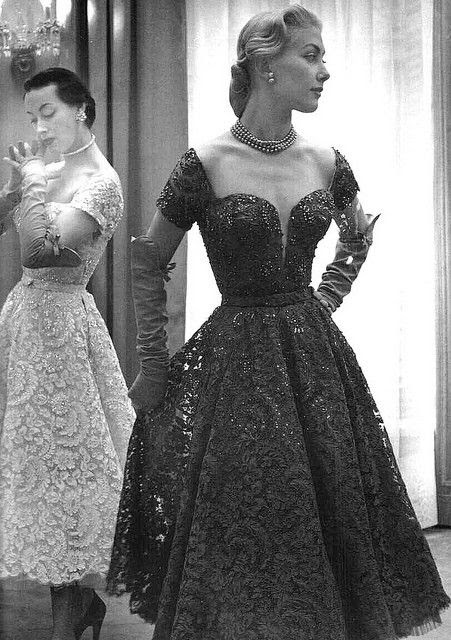 Pierre Balmain, Paris, 1952 #nymi