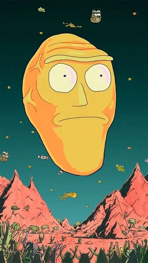 rick  morty wallpapers   cool high