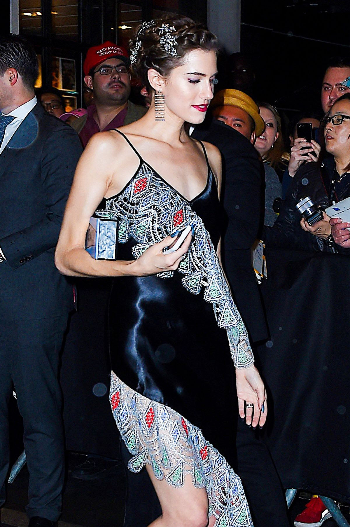 ALLISON WILLIAMS Leaves Met Gala After-party in New York 05/02/2016