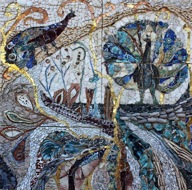 Ilana-Shafir-seramik-cam-mercan-deniz-kabugu