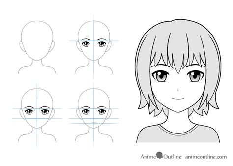 anime facial expressions chart drawing tutorial