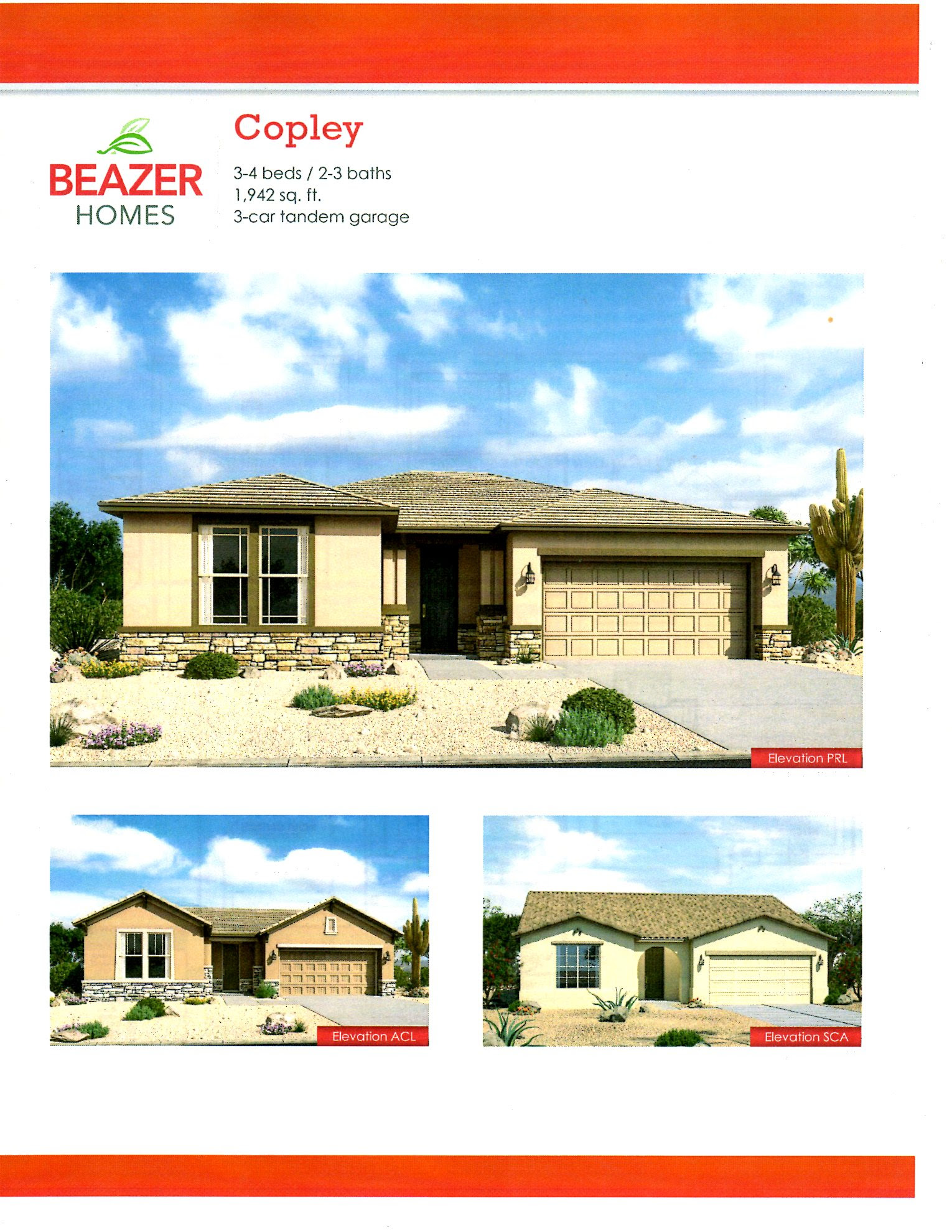 Beazer Homes Gallery Series Zanjero Trails