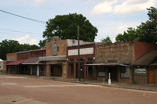 main street, timpson, texas