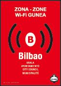 Logo de zonas-wifi en Bilbao