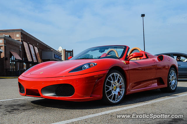 Ferrari F430 spotted in Cincinnati, Ohio on 08\/16\/2014, photo 2