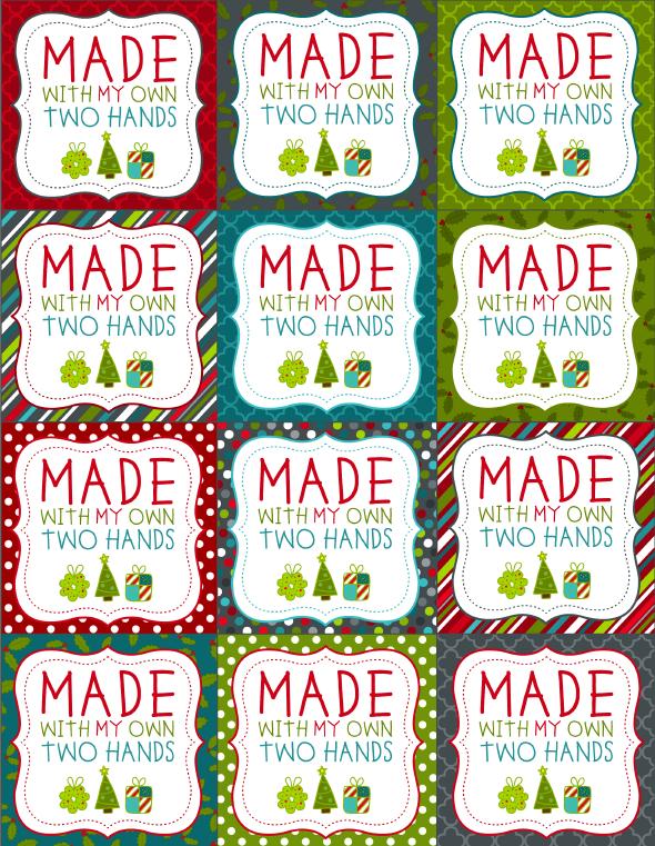 Printable Christmas Labels for Homemade Baking   Worldlabel Blog