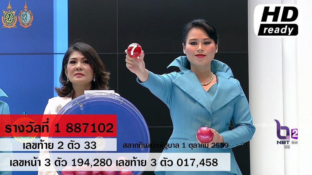 Liked on YouTube: ผลสลากกินแบ่งรัฐบาล ตรวจหวย 1 ตุลาคม 2559 [ Full ] Lotterythai HD youtu.be/XM6eXjqAgEg