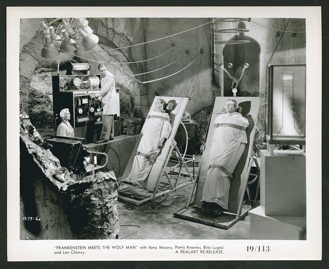 Frankenstein Meets the Wolf Man (Realart, R-1949)