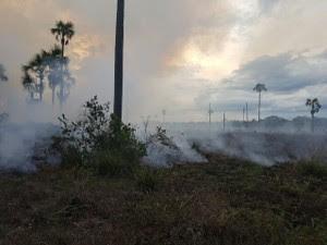 Há possibilidade de uma aeronave ser acionada (Foto: Corpo de Bombeiros/Divulgação)