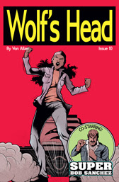 Wolf's Head Issue 10 cover by Von Allan