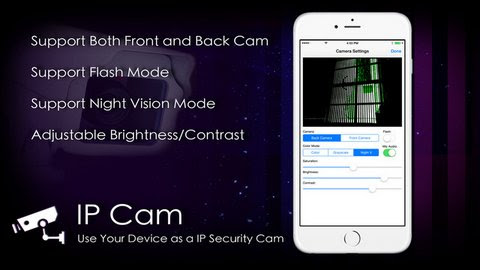 Turn your iPhone Camera into Spy Cam