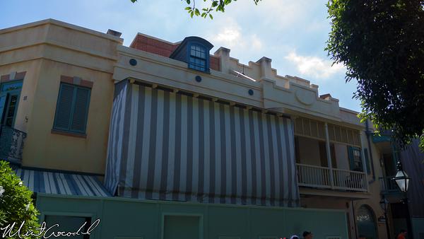 Disneyland Resort, Disneyland, New Orleans Square, Club 33, Refurbishment, Refurb, Rooftop