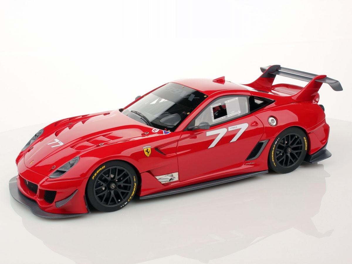 Ferrari 599XX Evo 1:18  MR Collection Models
