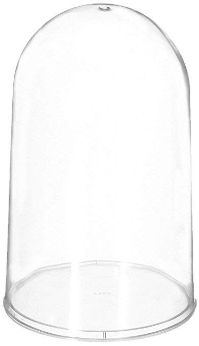 Firefly Imports 7.5-Inch Plastic Dome Display Case with