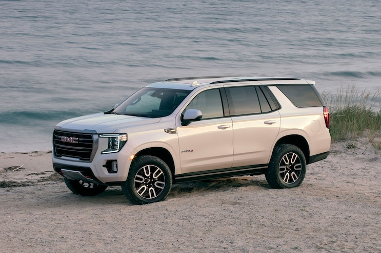 no diesel for 2021 gmc yukon at4