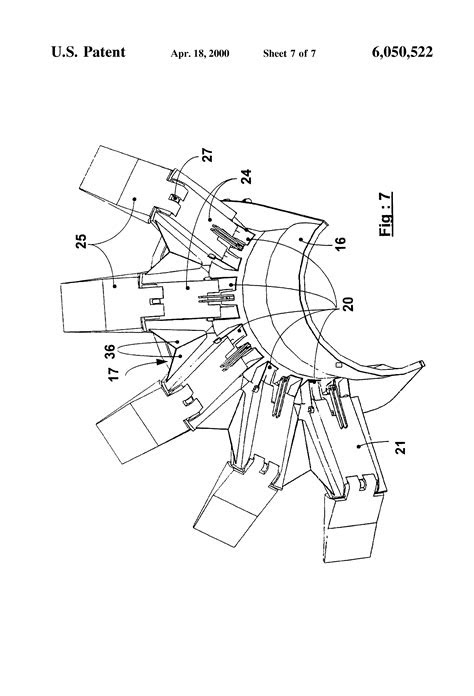Patent US6050522 - Thrust reverser for a high bypass