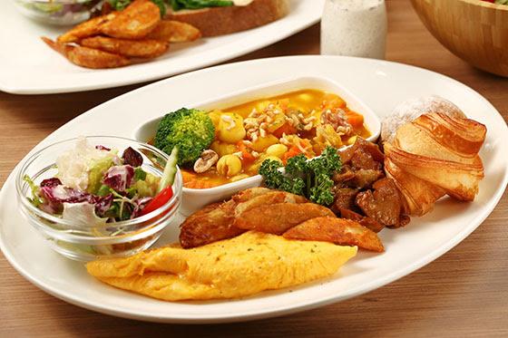京元蔬食/京元/蔬食/信義區/健康/養生/沙拉/帕尼尼/乳酪煎餅/燉鍋/班迪尼克蛋