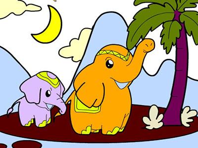 Hayvan Boyama Sayfaları Oyunu Resim Boyaması Yap Oyna