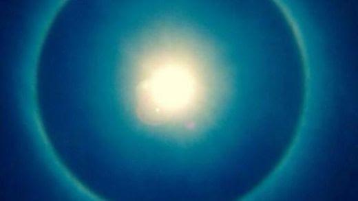 Halo solaire Mexique