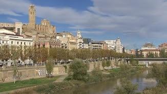 El riu Segre, al seu pas per Lleida