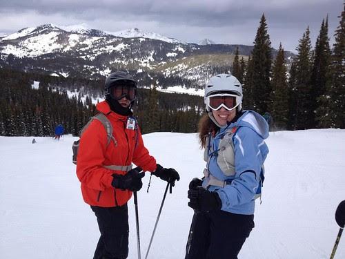 Keg skiing Copper