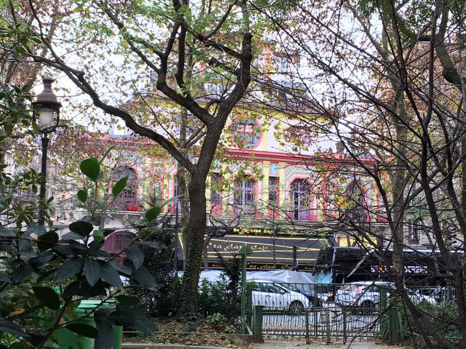 Nhà hát Bataclan ở Paris. Ảnh: Đặng Thanh Hương