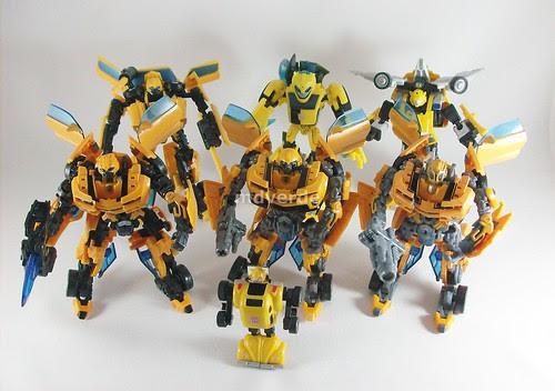 Transformers Bumblebee modo robot