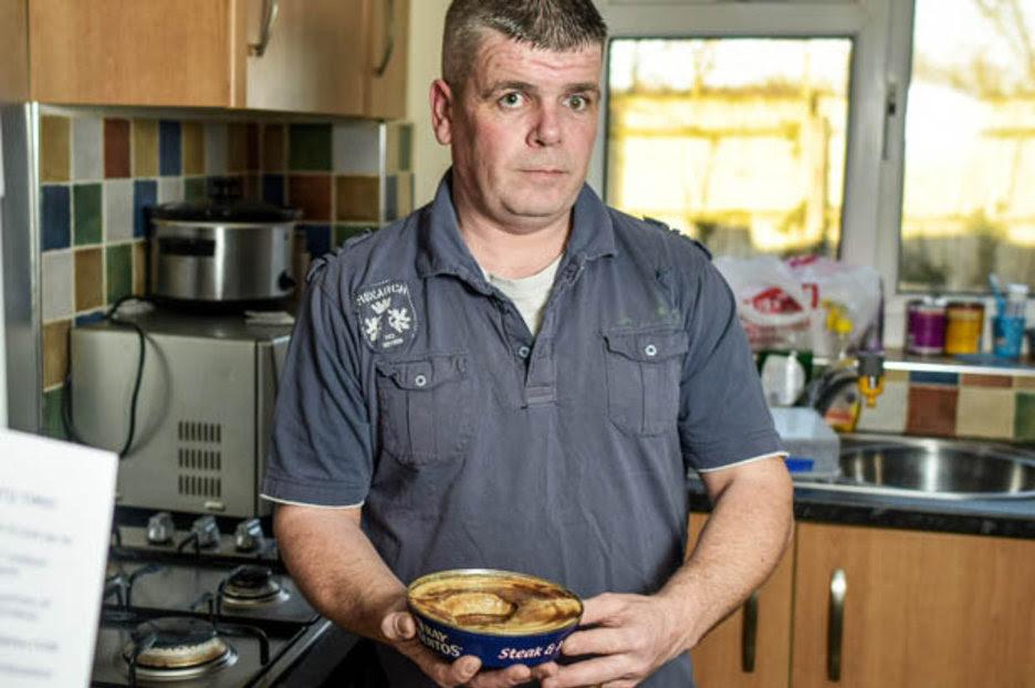 A horrified dad has found maggots in his Fray Bentos steak ...