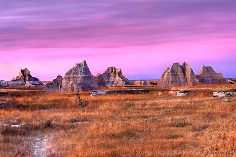 South Dakota Beautiful National Parks