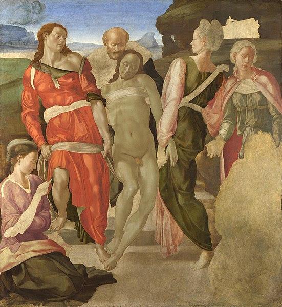Fil: Begravning Michelangelo.jpg