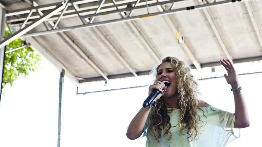 Haley Reinhart at Lollapalooza