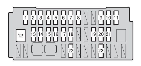 2011 Toyota Prius Fuse Box Wiring Diagram Page Hup Best Hup Best Granballodicomo It