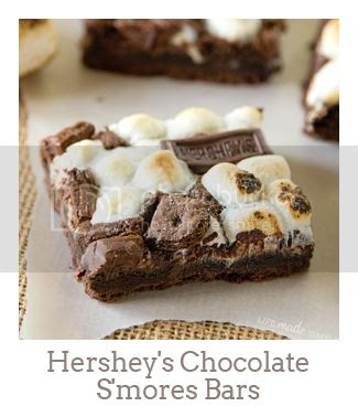 """Hershey's Chocolate S'mores Bars"""