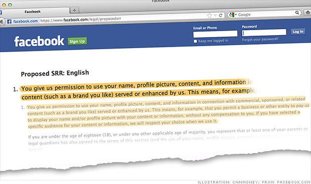 Facebook podría vender productos con tu cara