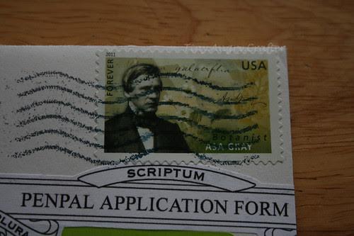Asa Gray stamp