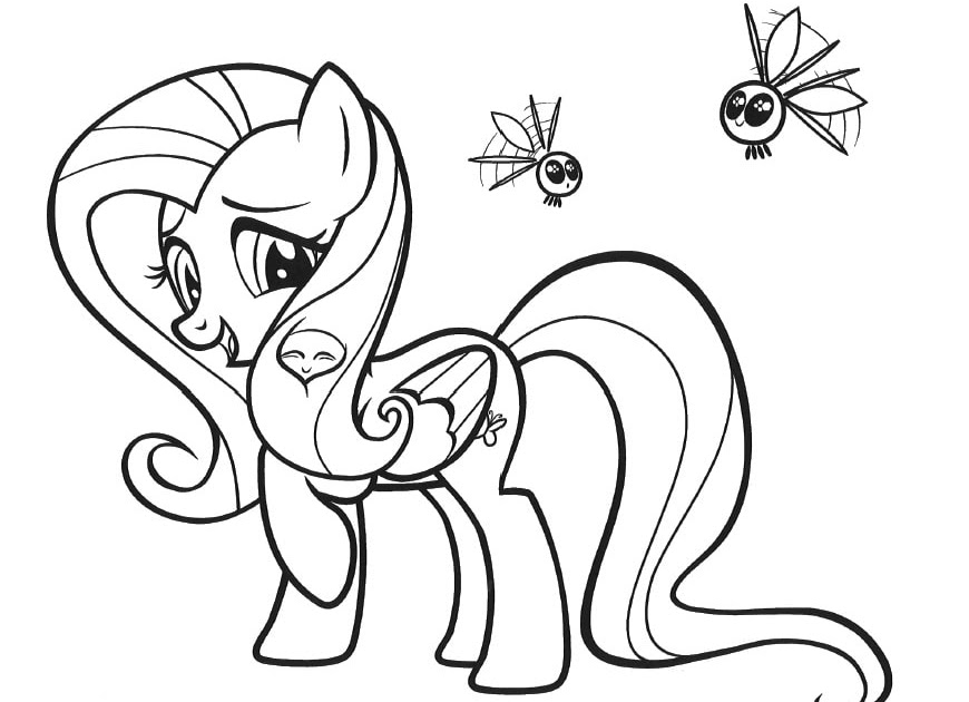 ausmalbilder zum ausdrucken my little pony