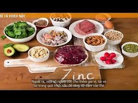 Tổng hợp những thực phẩm bổ sung và giàu Chất Kẽm