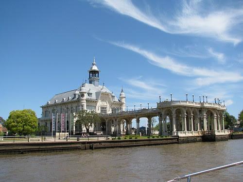 riverfront mansion