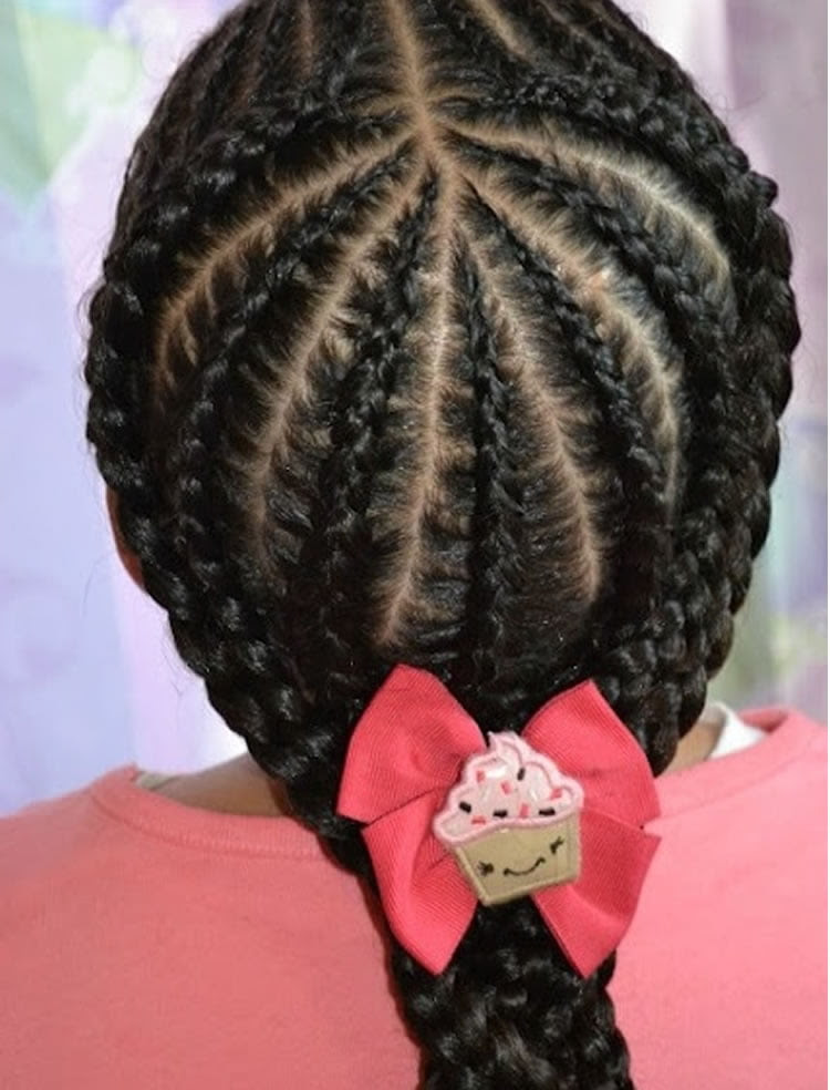 64 Cool Braided Hairstyles for Little Black Girls - Page 4 ...