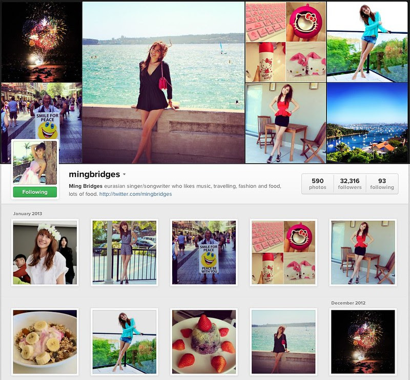 mingbridges on Instagram