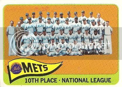 #551 New York Mets Team