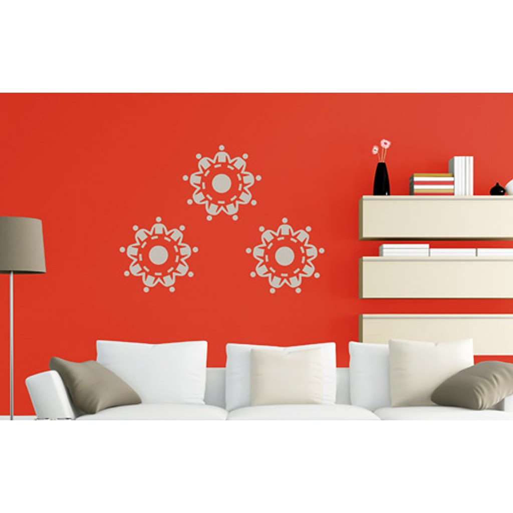 Unity In Harmony Asian Paints Wall Fashion Stencil Buy Online