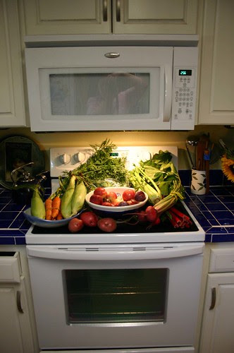 organic goodness and new appliances