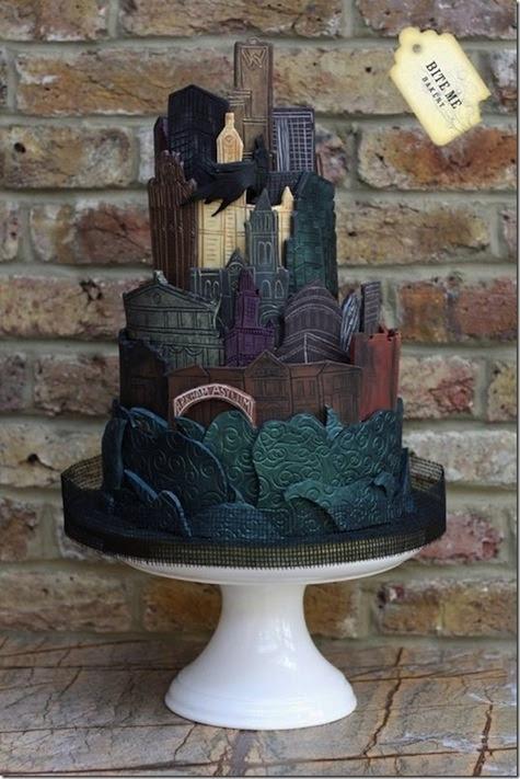Batman - Arkham Asylum cake